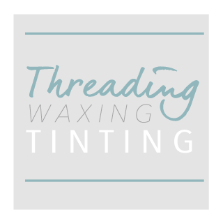 threading, waxing, tinting