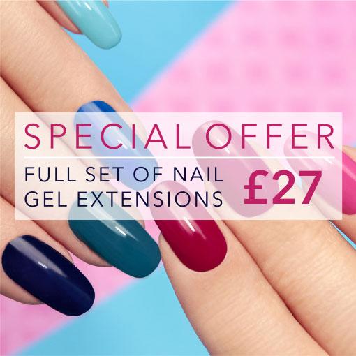 Nail Gel Extensions - £27